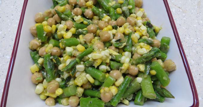 asparagus-chickpea-corn-salad