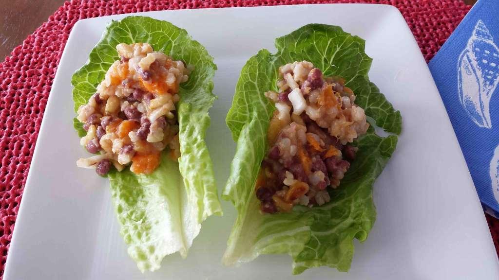 Adzuki Bean Salad Adzuki Bean Brown Rice Wrap Jpg