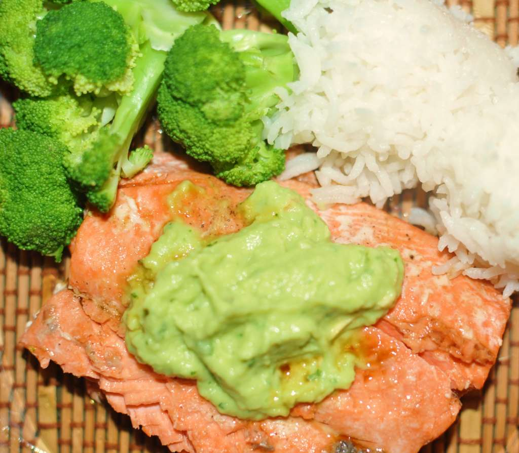 Pan-Seared Salmon with Avocado Remoulade - Ruth-Ellen Wiersma